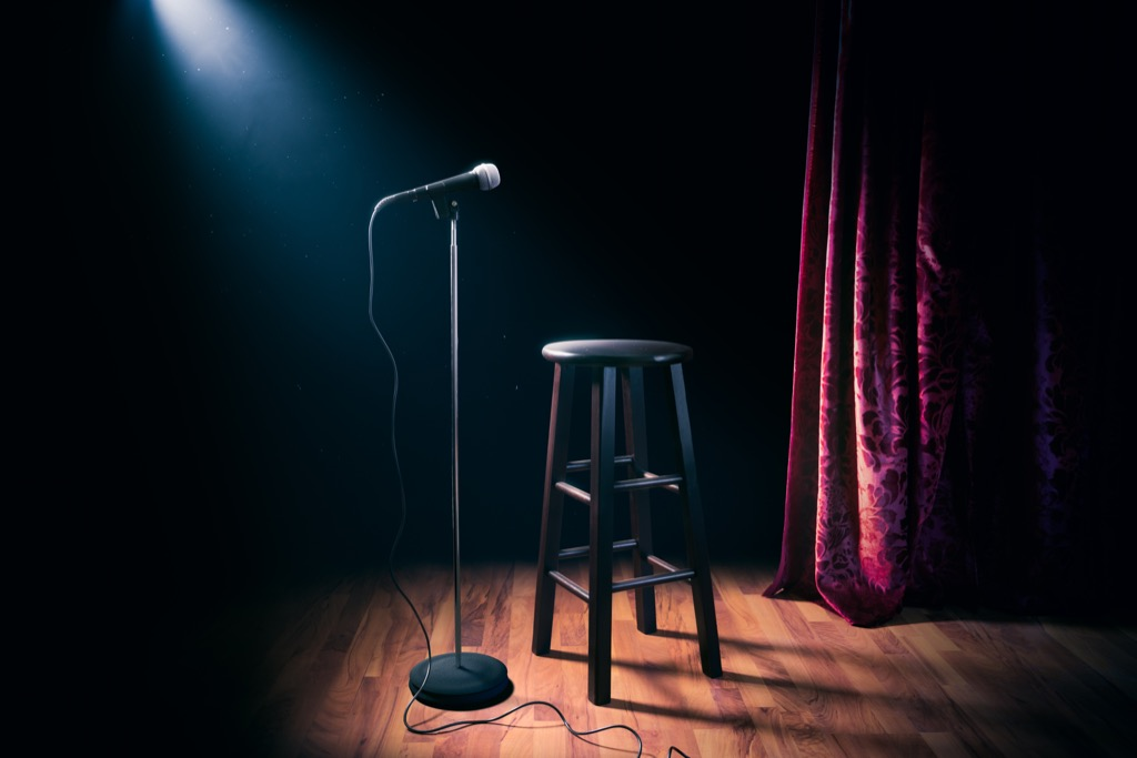 comedy set up for jokes