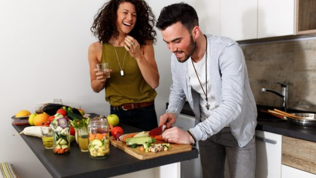 couple chopping vegetables ways we're unhealthy