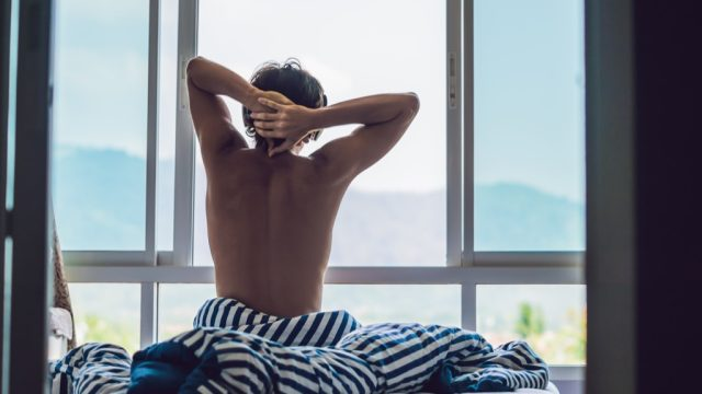 man early riser