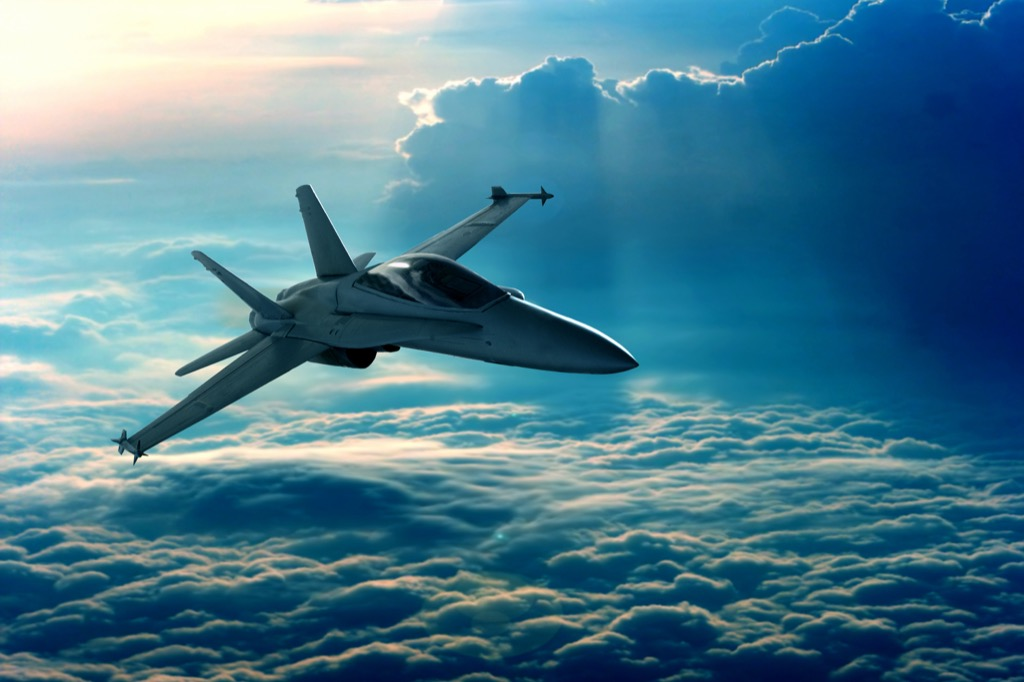 fighter set supersonic