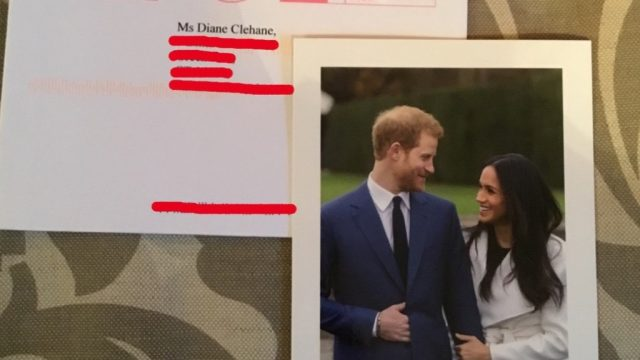 Harry and meghan third card