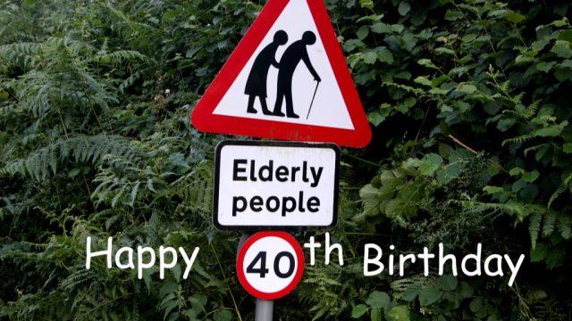 jokes turning 40