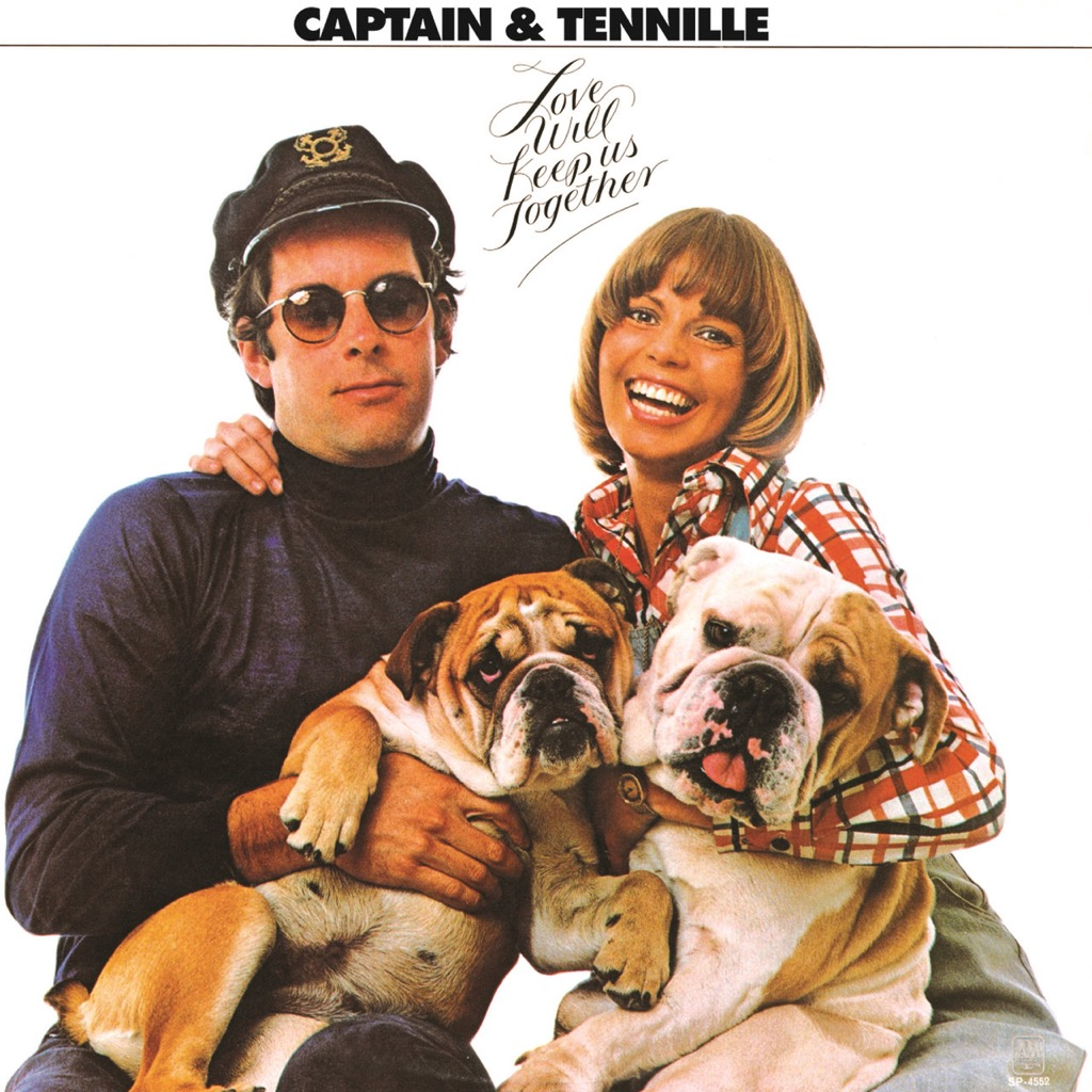"""Captain & Tennille """"Love Will Keep Us Together"""" album cover"""