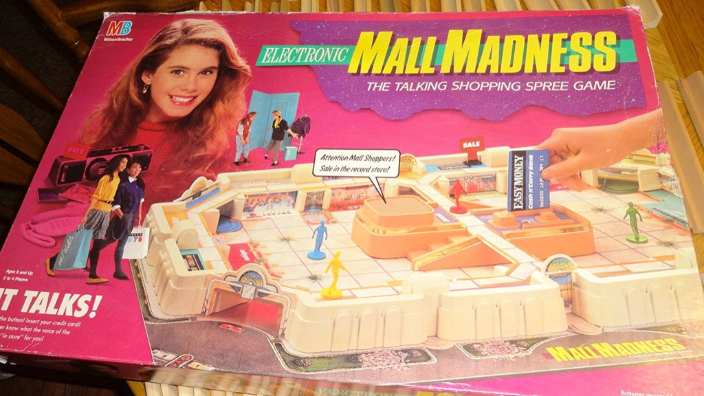 mall madness Worst Board Games