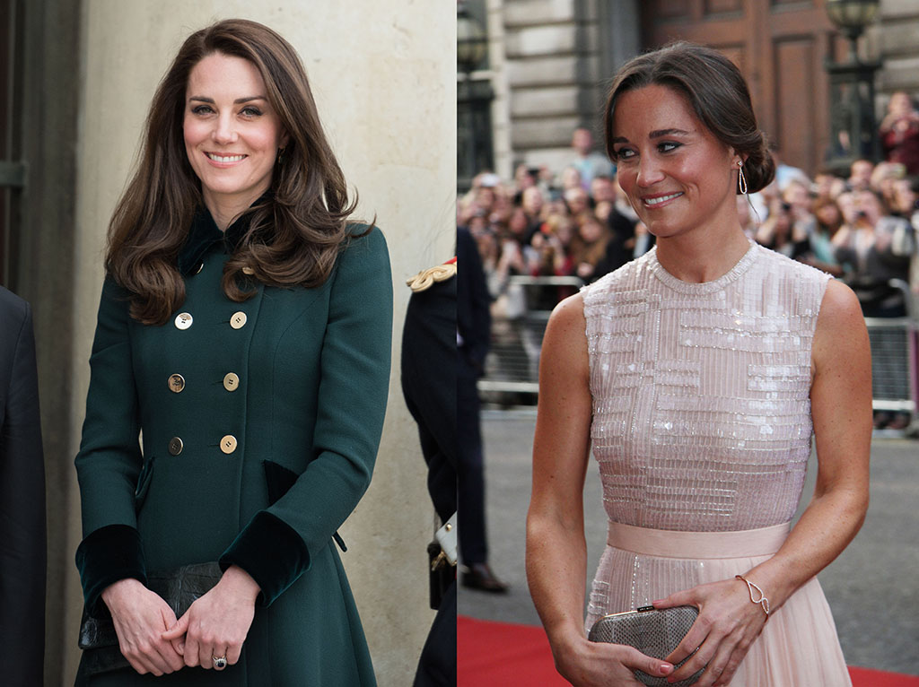 pippa and kate Middeton Celebrity Siblings