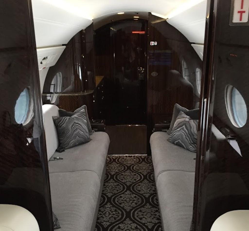 interior of G-5 plane, photo by Diana Bruk.