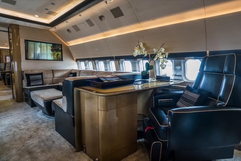 private plane seats