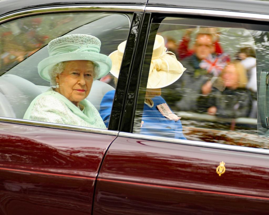 queen elizabeth car Traditions Royal Brides