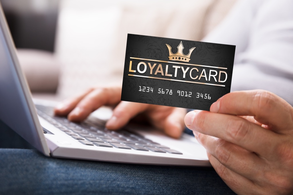 loyalty card stop wasting money