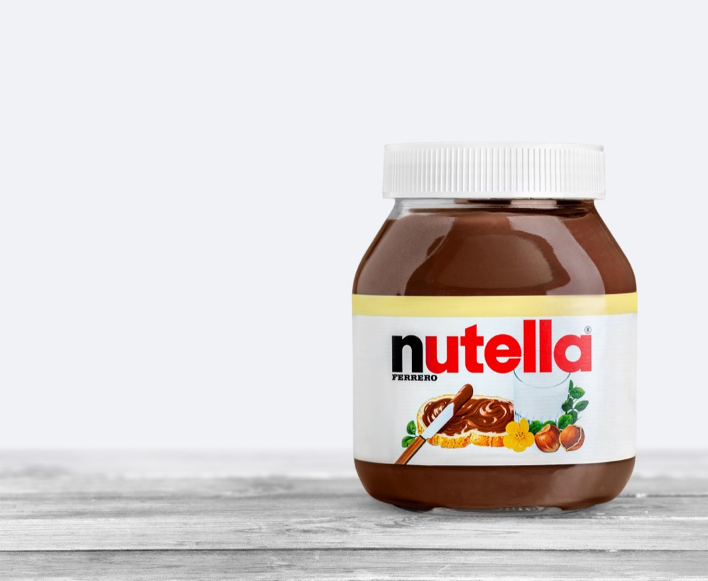 nutella Amazing Facts