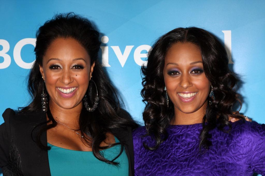 Tia and Tamara Mowry Celebrity Siblings