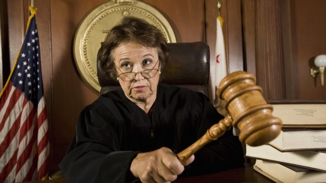 judge Things Said in Court