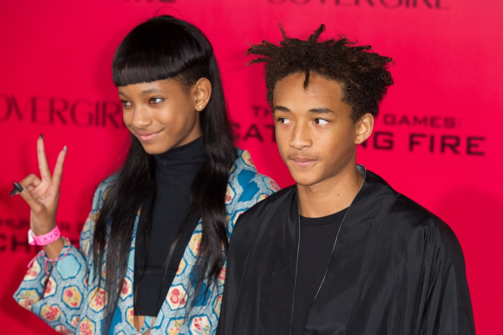 Jaden and Willow Smith Celebrity Siblings