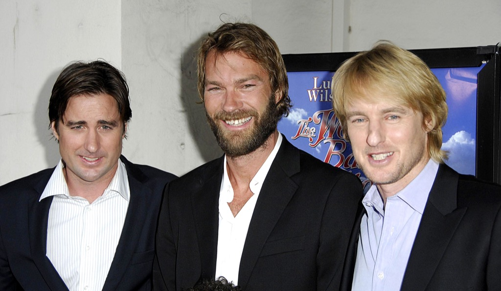 Luke, Owen and Andrew Wilson Celebrity Siblings