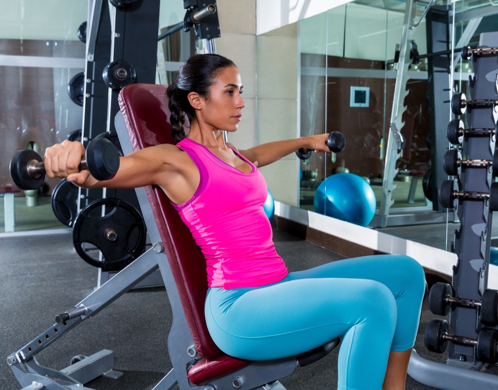 Incline dumbbell flye Exercises for Adding Muscle