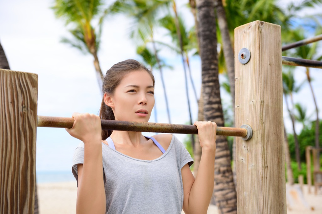 Chinnup Exercises for Adding Muscle