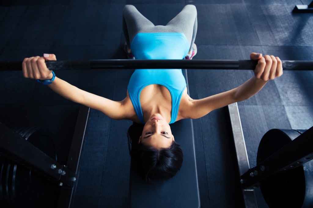 Low-incline press Exercises for Adding Muscle