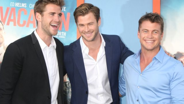 Chris, Liam and Luke Hemsworth