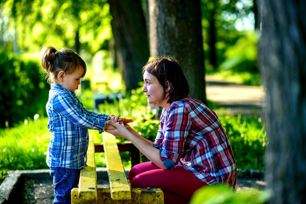 mother and daughter Worst Things to Say to Kids