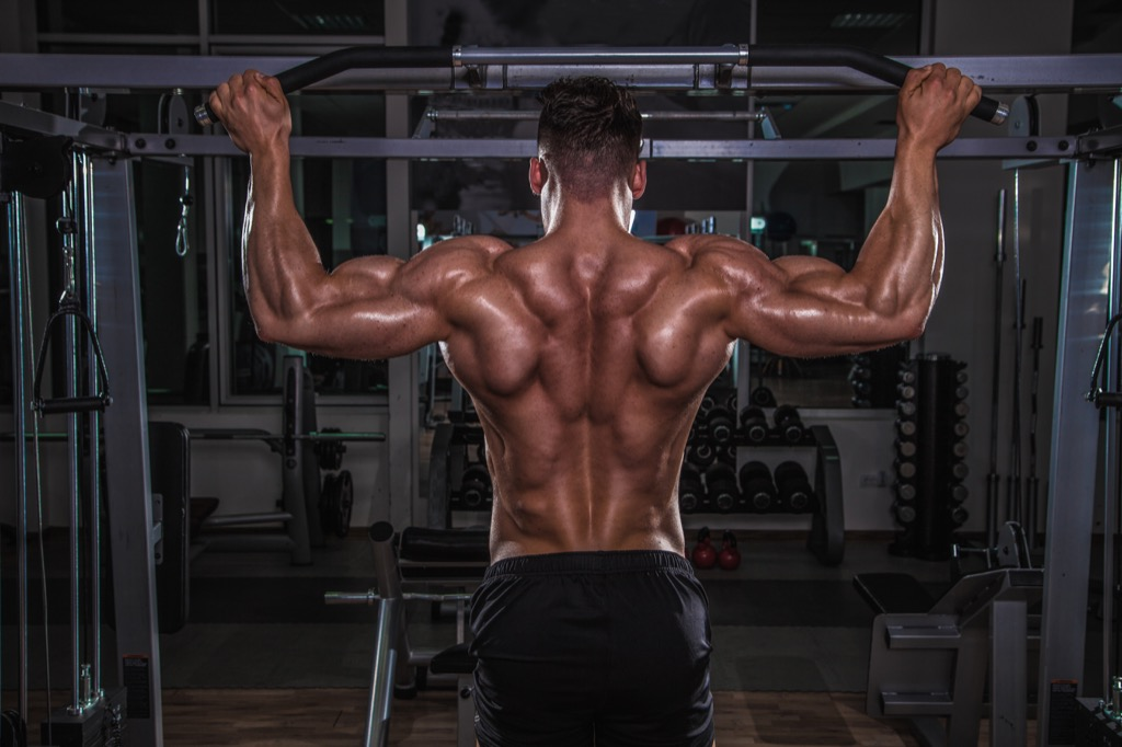 Wide pullup Exercises for Adding Muscle