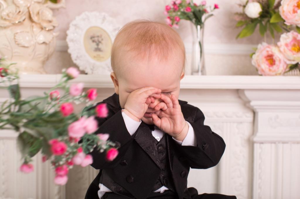 crying baby ruining