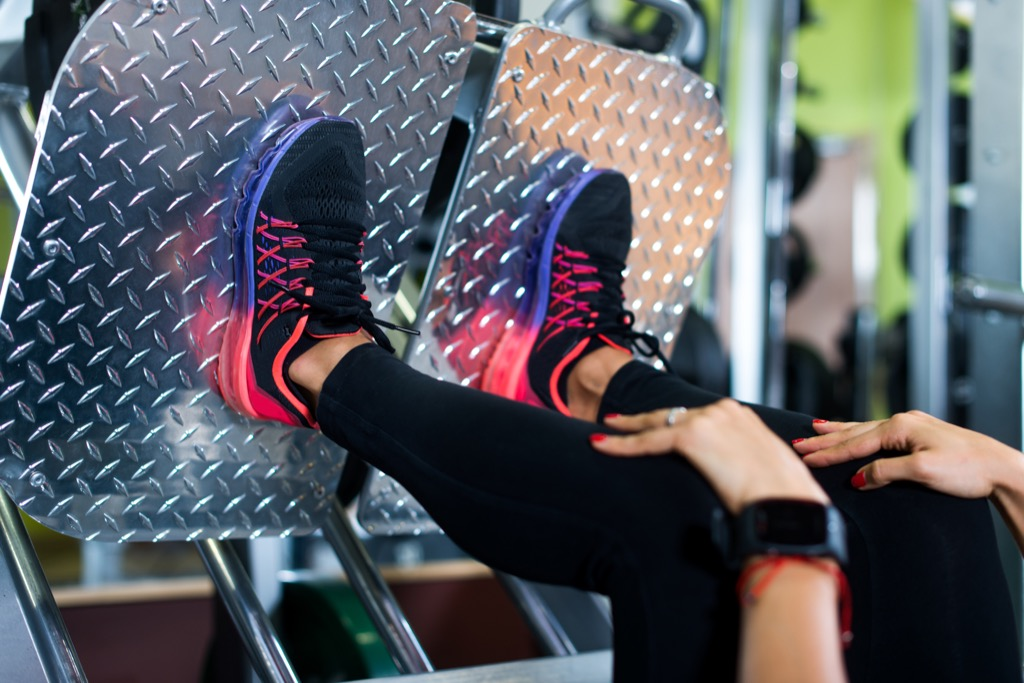 Legpress Exercises for Adding Muscle