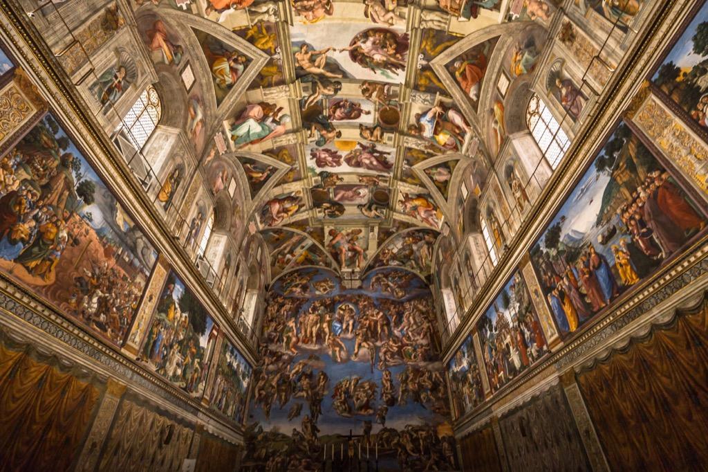 Italians Sistine Chapel