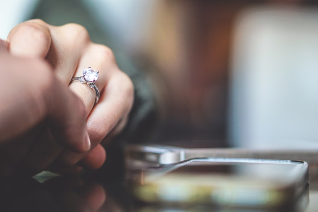 engagement ring Facts About Millennials