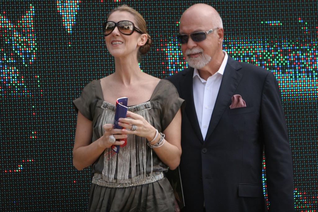 Celine Dion & Rene Angelil Extravagant Celebrity Weddings
