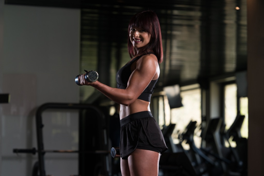 dumbbell curl Exercises for Adding Muscle