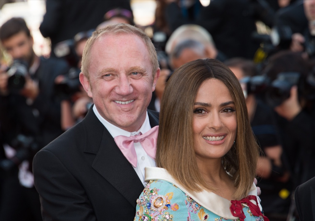 Salma Hayek & Francois-Henri Pinault Extravagant Celebrity Weddings