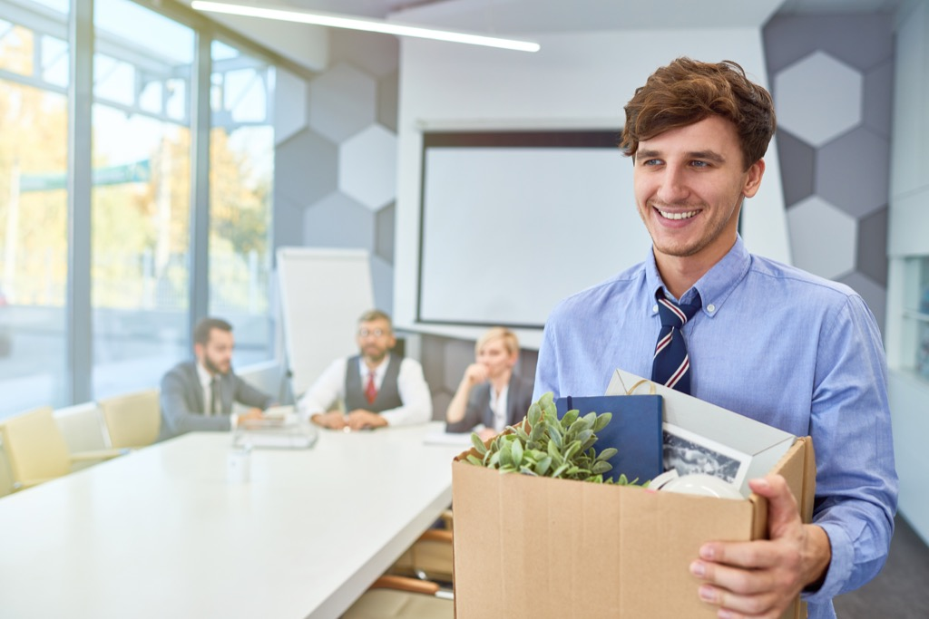 man who left bad job Facts About Millennials