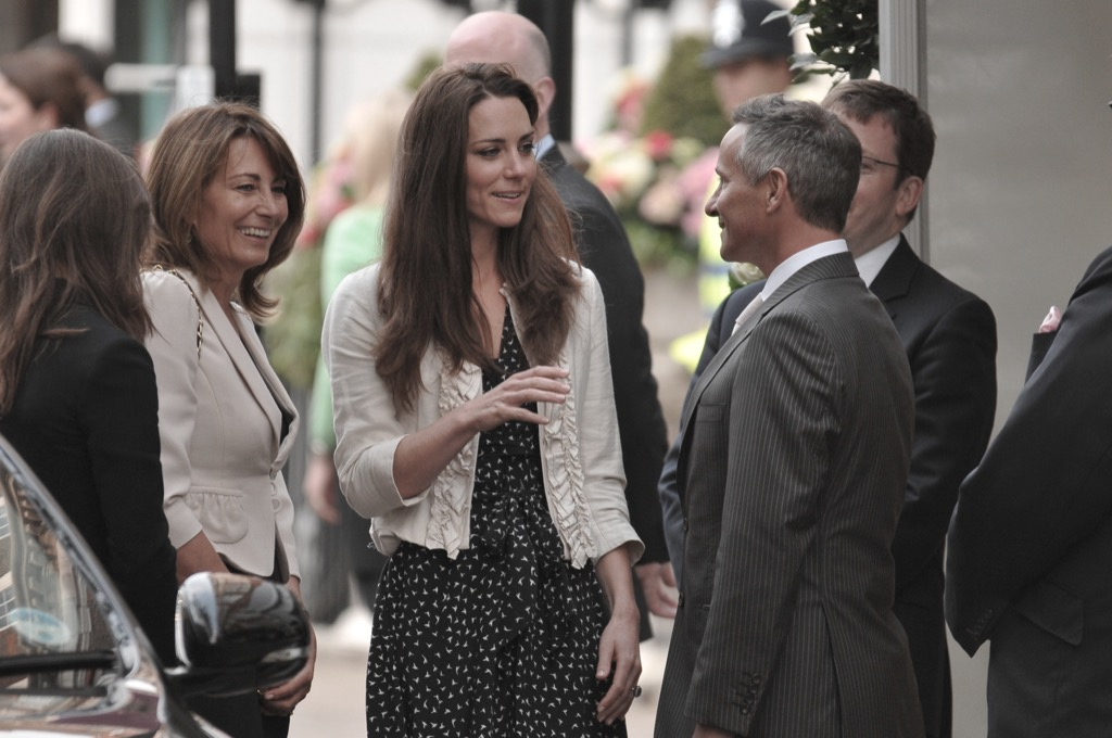 Kate Middleton and her parents