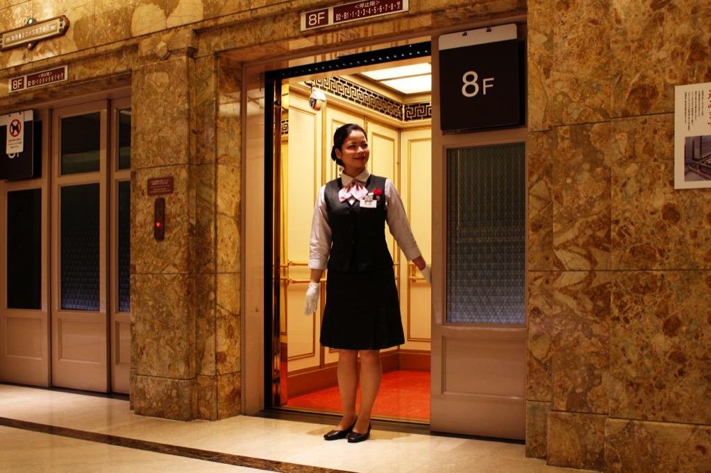 Elevator operator useless jobs
