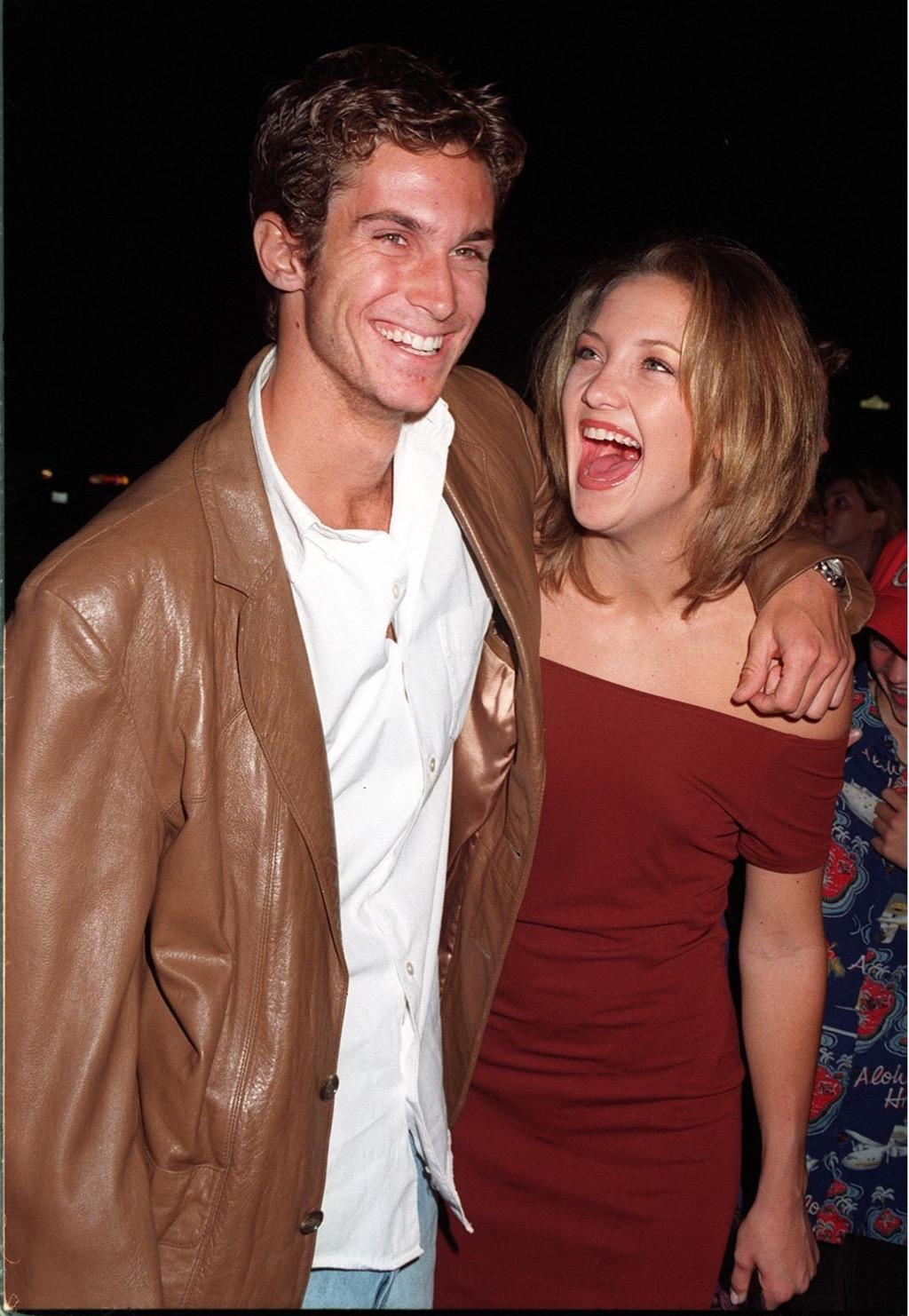 Kate and Oliver Hudson Celebrity Siblings