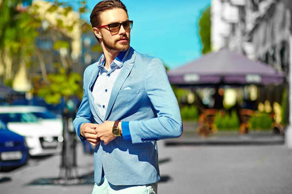 stylish man new words
