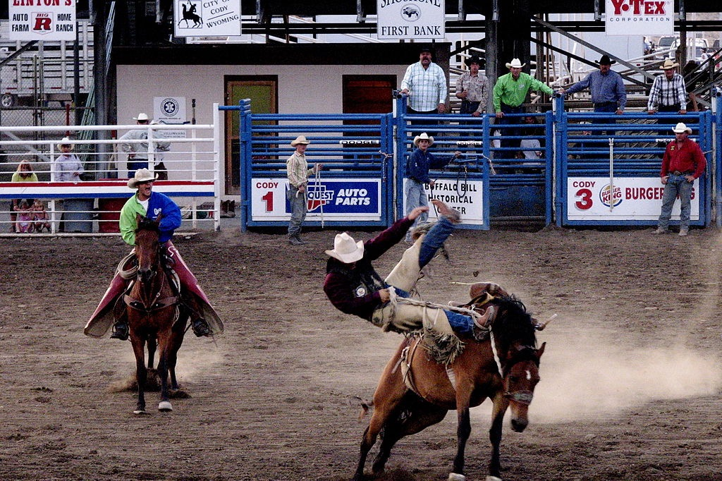 rodeo in Wyoming Local Favorites