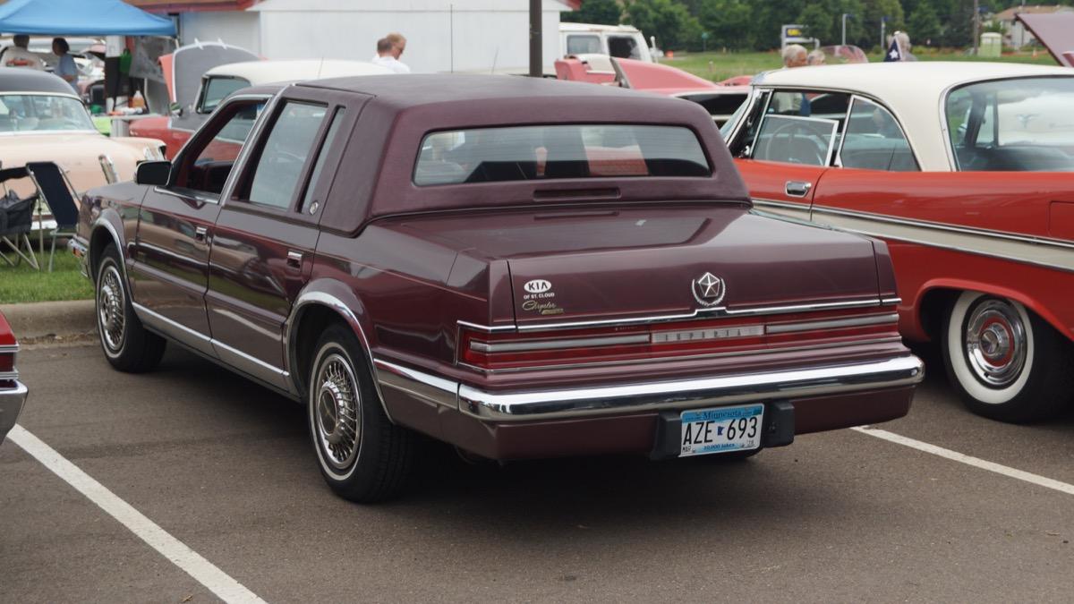 1990 chrysler imperial, worst cars