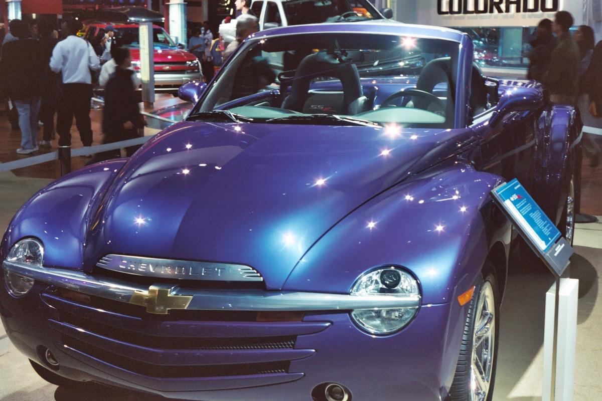 2003 chevy ssr, ugliest cars