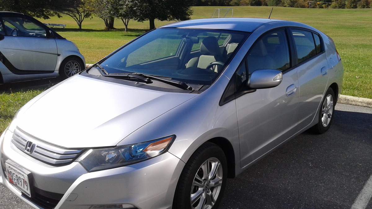 2010 honda insight car