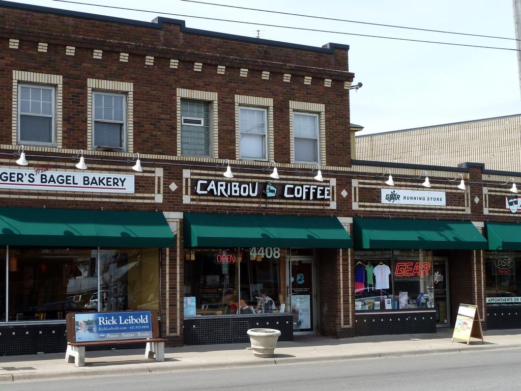 Caribou Coffe local favorites