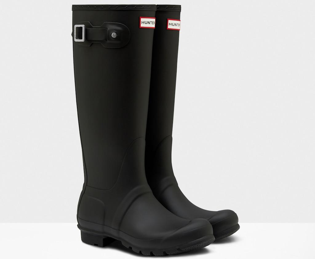 Hunter boots Meghan Markle's Favorite Fashion Brands