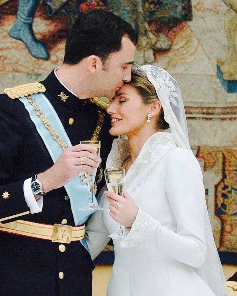 Felipe, Prince of Asturias and Letizia Ortiz Rocasolano Lavish Royal Weddings