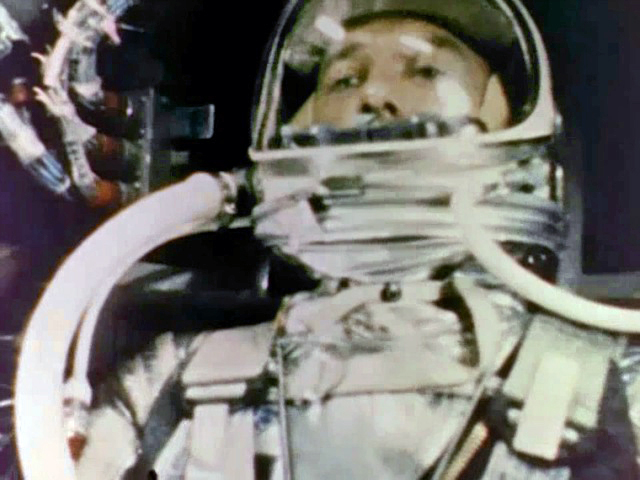 Alan Shepard First American in Space Kennedys