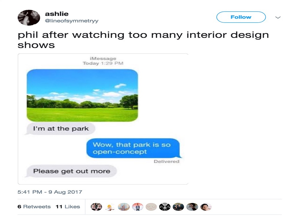 Open concept funniest home design show jokes