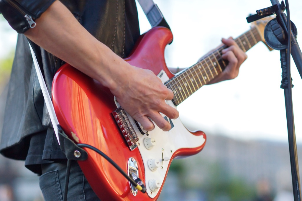 Band Playing at Summer Fair advice you should ignore over 40