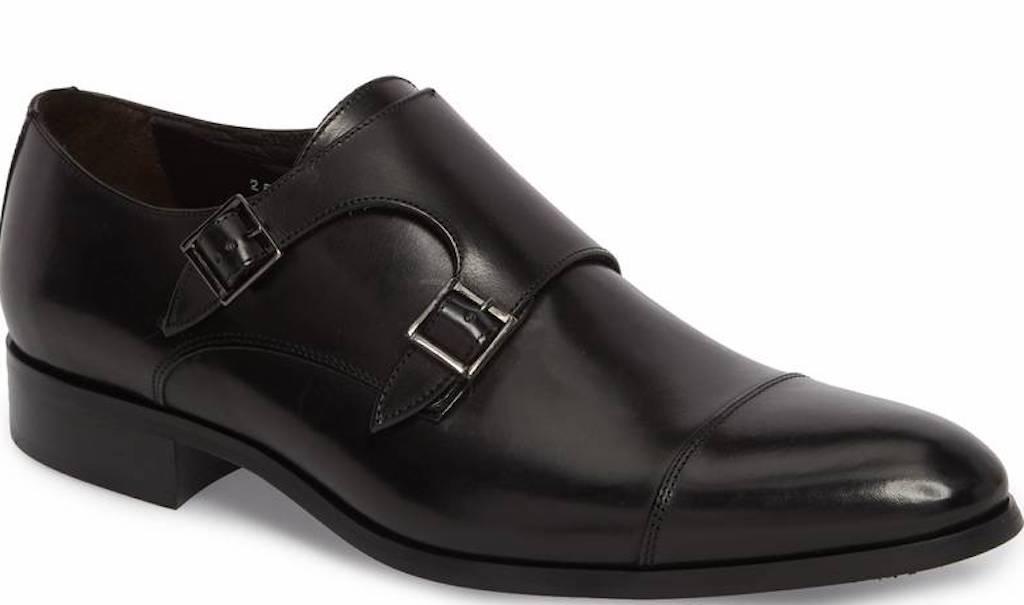 Bankston Cap Toe Double Strap Monk Shoe TO BOOT NEW YORK