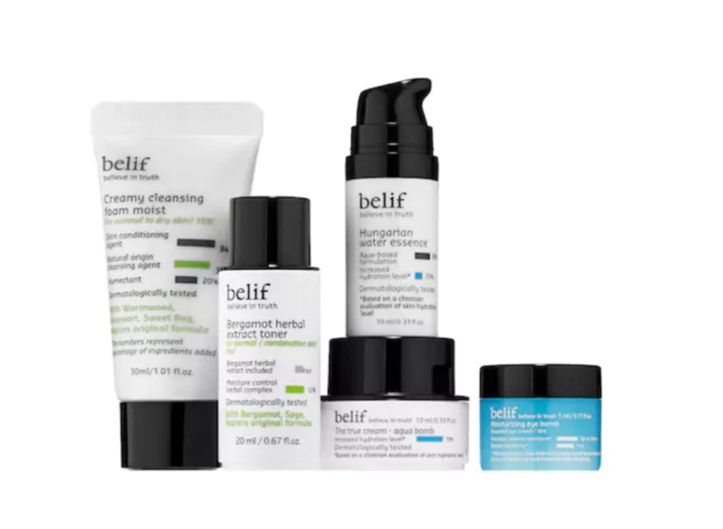 Belif On-the-Go Bestsellers mother's day gift