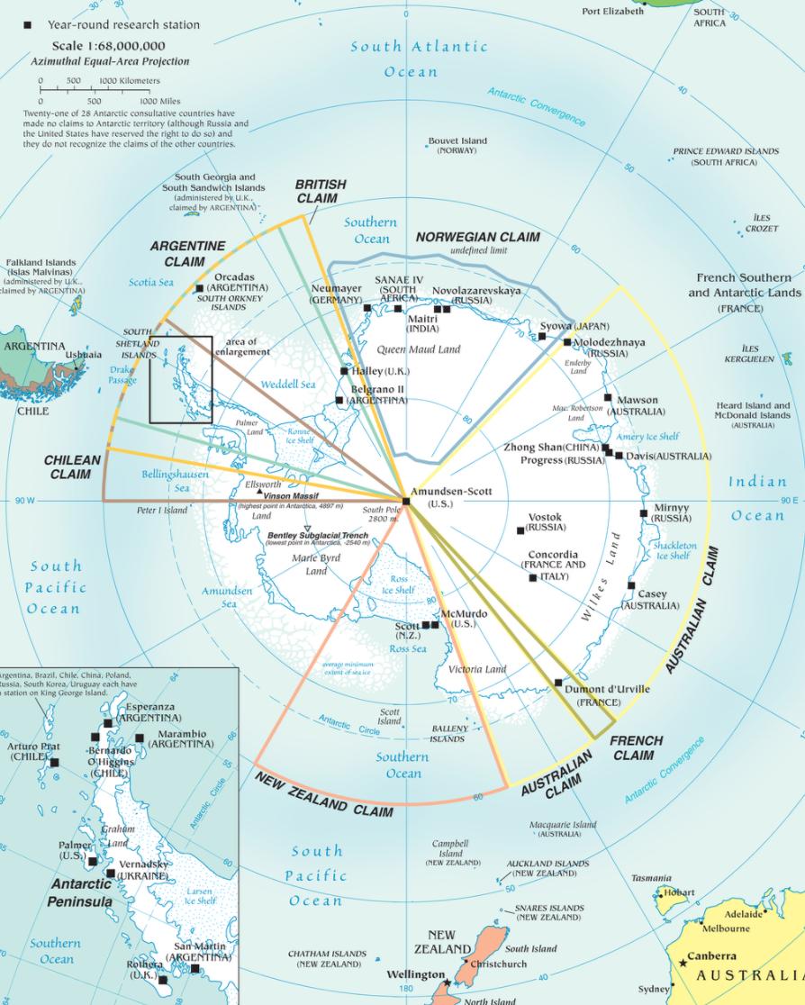 Bentley Subglacial Trench Antarctica Planet Earth Facts