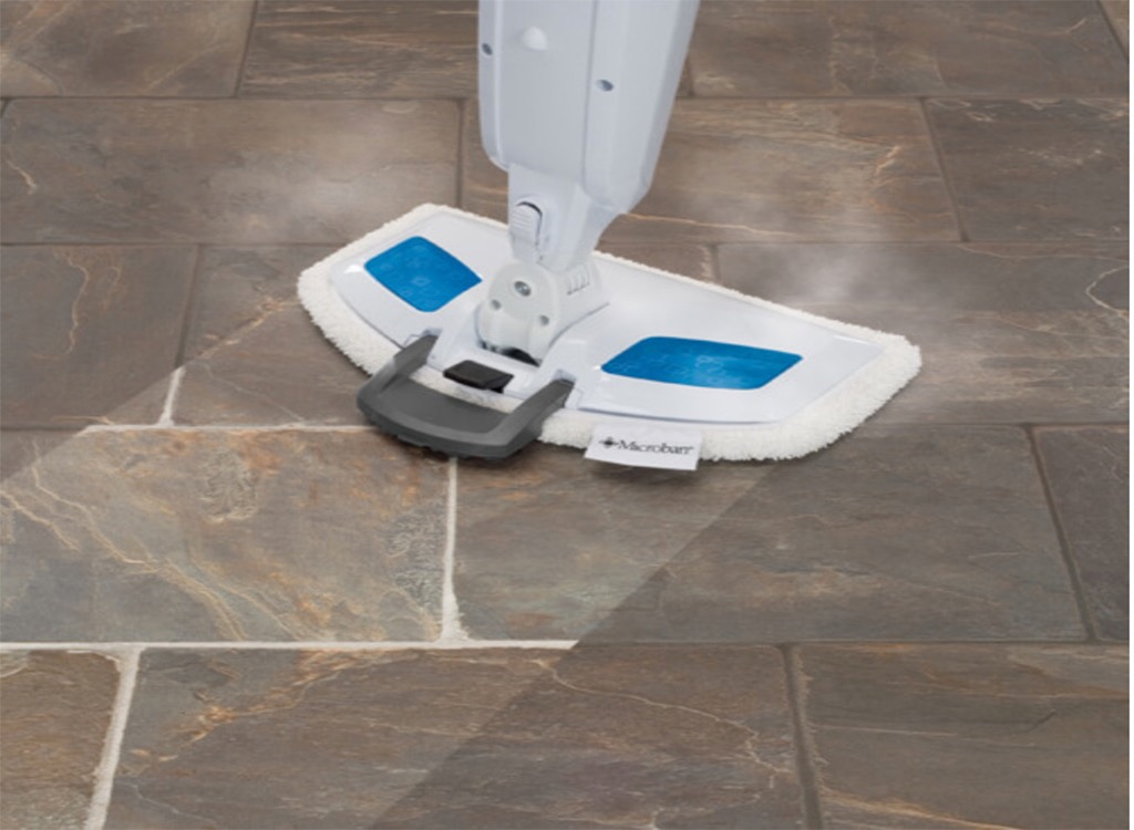 Bissell Steamfresh Power Mop cleaning floor